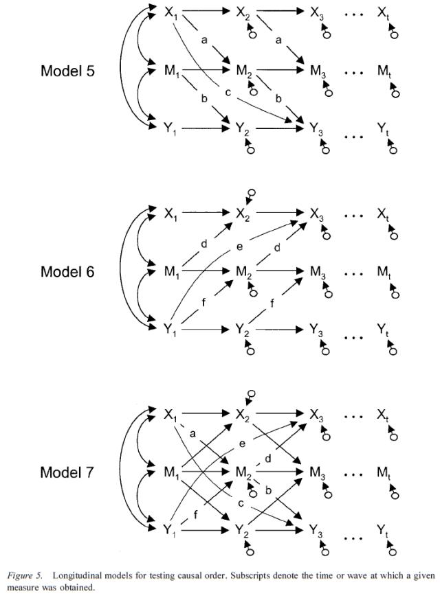 Testing Mediational Models With Longitudinal Data - Figure 5